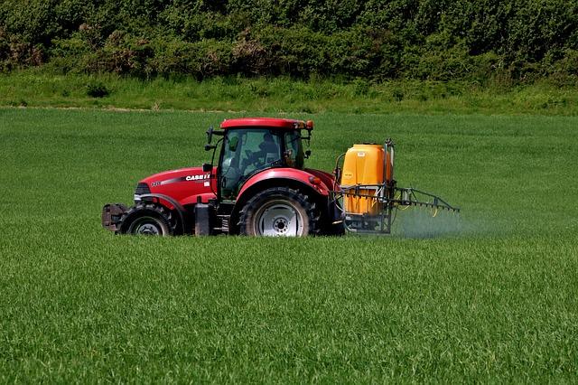 Glyphosat Traktor