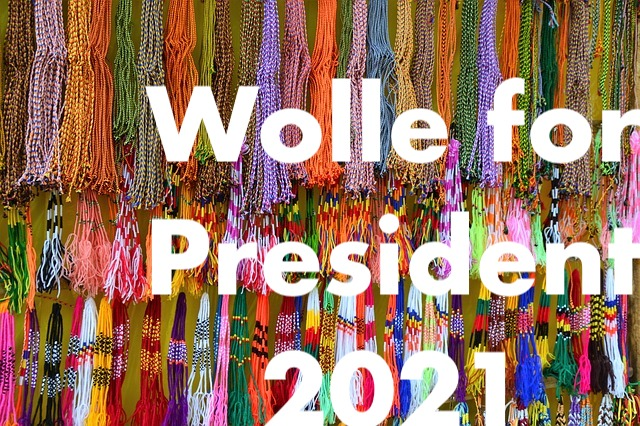 wolle for president 2021