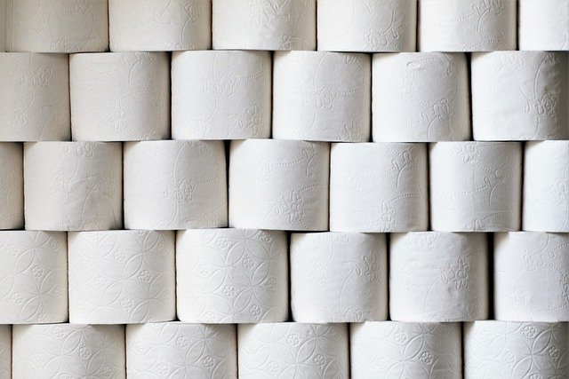 Toilettenpapier hamstern